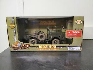 21st Century Toys - Ultimate Soldier 1:18 Scale Dodge WC51 Weapons Car -NIB