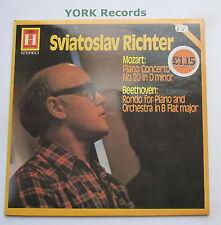 2548 106 - MOZART - Piano Concerto No 20 RICHTER / SANDERLING - Ex Con LP Record