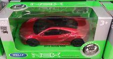 Silver Metallic BMW 535i Boys Toy WELLY Model Diecast Car Birthday Present BOXD