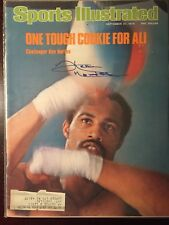 Ken Norton (died 2013) Signed Sports Illustrated SI 9/27/76 Boxing HOF Champ Ali