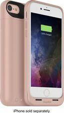 Mophie Juice Pack AIR Battery Case Wireless Charge f/ Apple iPhone 8 7 Rose Gold