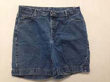 Woman's Riders Size 16 M Blue Jean  Short Pants