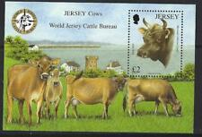 JERSEY 2013  JERSEY COWS MINIATURE SHEET UNMOUNTED MINT, MNH