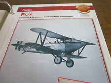 Faszination 14 41 Fairey Fox Bomber 1925 England