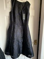 Paul Smith Black Label Dress Navy Size 8 /40 Made In Italy New