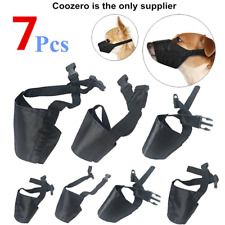 Dog Muzzles Suit, 7 PCS Anti-Biting Barking Adjustable Mouth Cover For Small Pet