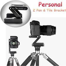 Regolare un treppiede fotocamera Z PAN pieghevole Tilt STAFFA Testa Supporto Titolare Fotografia