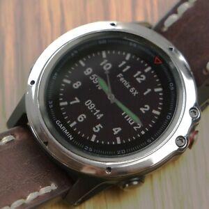 Garmin Fenix 5X & 5X PLUS watch :Stainless Steel Bezel Accessory Protector