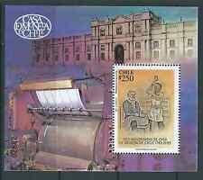 CHILE 1993 250 Years Casa de Moneda souvenir sheet MNH