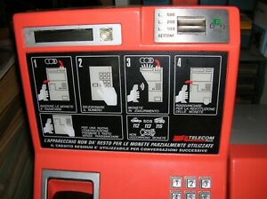 TELEFONO A SCHEDA/MONETA- PER CABINA- ANNI''80