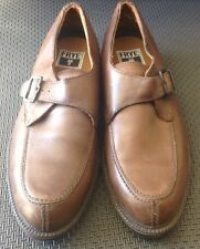 Frye Men's Brown Leather Monk Strap  Shoes Size 9.5