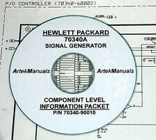 HP 70340A  Signal Generator  CLIP (Schematics) Manual