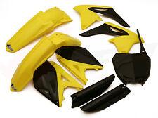 Ovni De 6 Piezas Motocross Kit plástico Suzuki Rmz 250 11 - 12 Std ssukit413e