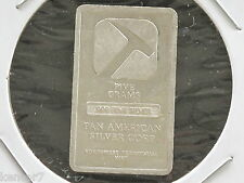 Pan American Silver Corp. 5 Grams Silver Bullion Fractional Bar D4344