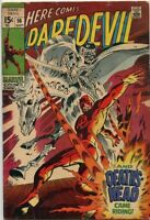 Daredevil #56 1st Appearance Death's Head Marvel Comics 1969 VG