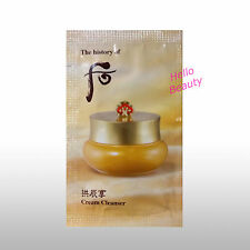 The History Of Whoo Gongjinhyang Cream Cleanser 2mlx20pcs (40ml) [HelloBeauty]