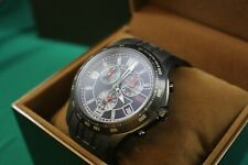 GUCCI G Timeless chronograph 126.2 Stainless Steel Black Dial Quartz Watch