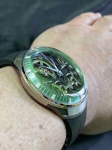 Accutron Spaceview DNA 28 jewels electrostatic energy movement. Model # 2ES9A001