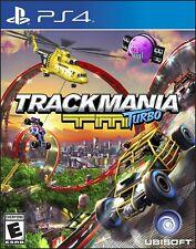 TrackMania Turbo PS4 Sony PlayStation 4 Brand New Factory Sealed Track Mania