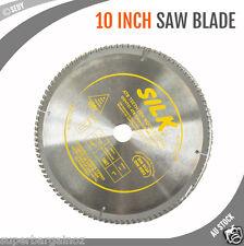 "10"" 250mm 100T Circular Saw Blade Round Cross Cutting Wood Timber Aluminium NEW"