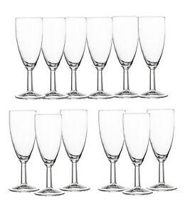 12er Set Arcoroc Sektgläser Sektkelche Glas Prosecco Champagner Gläser 145ml