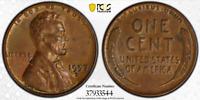 1957-D PCGS AU58 Obv Planchet Lam Mint ERR - RicksCafeAmerican.com