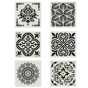30*30CM Mandala Stencil Painting Floor Wall Template Embossing DIY Tool G3V0