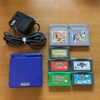 Nintendo Game Boy AdvanceSP Blue from jAPAN North American Edition