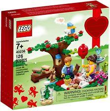 LEGO SET 40236 Romantic Valentine's Picnic NEW Seasonal Love Minifig Tree Bird