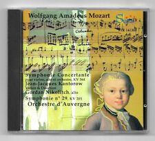CD / ORCHESTRE D'AUVERGNE - MOZART / KANTOROW , NIKOLITCH