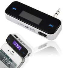 CAR WIRELESS FM MP3 RADIO TRANSMITTER HANDS FREE FOR IPHONE X/8 IPOD SAMSUNG HTC