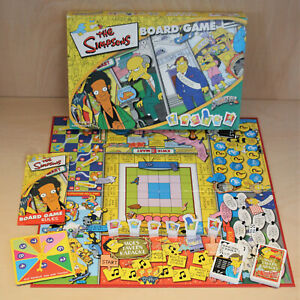 The Simpsons Board Game - Winning Moves - Vintage 2000 - VGC
