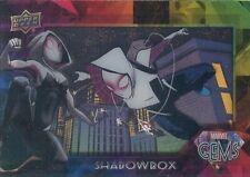2016 Upper Deck Marvel Gems Shadowbox SB-8 Spider-Gwen MINT! RARE!