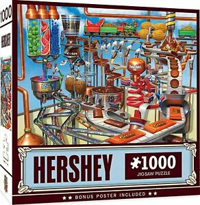 Hershey's Chocolate Factory 1000-Piece Jigsaw Puzzle