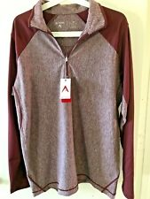 Antigua Playmaker 1/4 zip pullover- Men's Medium, golf, activewear, comfortwear