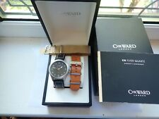 Christopher Ward London C8 Flyer Mark 1 Quartz 44mm From July 2017 3 Straps Box