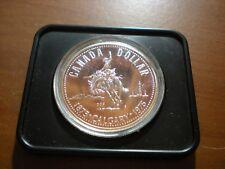 1975 Canada Calgary Centennial Silver Dollar Proof
