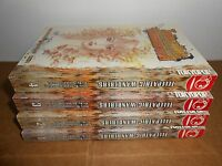 Telepathic Wanderers vol. 1-4 Manga Graphic Novel Book Complete lot in English