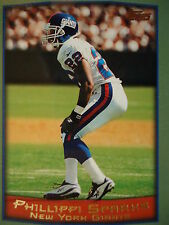 NFL 56 Phillippi Sparks New York Giants Topps 1999