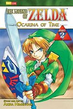 The Legend of Zelda: Ocarina of Time, Vol. 2 New Paperback Book Akira Himekawa