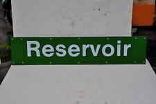 V.R. PTC. Station sign