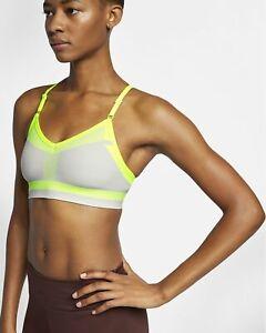Nike Flyknit Indy Tech Pack Medium-Support Sports Bra AQ0160-078 Sz XS NWT 70.0