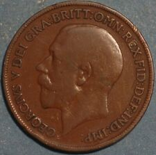 Great Britain Penny 1920 KM# 810 AB14