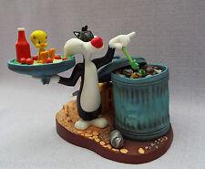 Wedgwood Looney Tunes Sylvester Buffet Tweetie Pie Ltd Ed Figura de Porcelana MIB