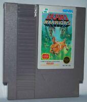 Ikari Warriors (1987) Cartridge NES Nintendo Game Authentic Tested Good