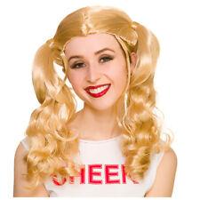 Meneuse de Claques Perruque de Femmes Blond Accessoire Déguisement