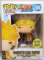Naruto Six Path Glow GITD Funko Pop Vinyl New in Mint Box + Protector