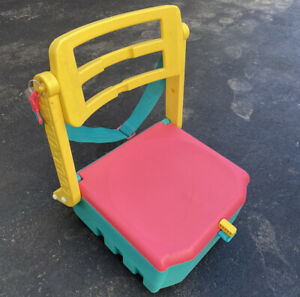 Cool Gear Cooler Stadium Seat Fold-Up Portable Chair Vintage 1980s Retro