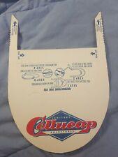 Vtg Cardboard Paper Sanitary Cellucap Advertising Employee? Visor? Hat Cap