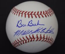 Bill Buckner d.19 Mookie Wilson 1986 WorldSeries Autograph Signed Baseball JSA B